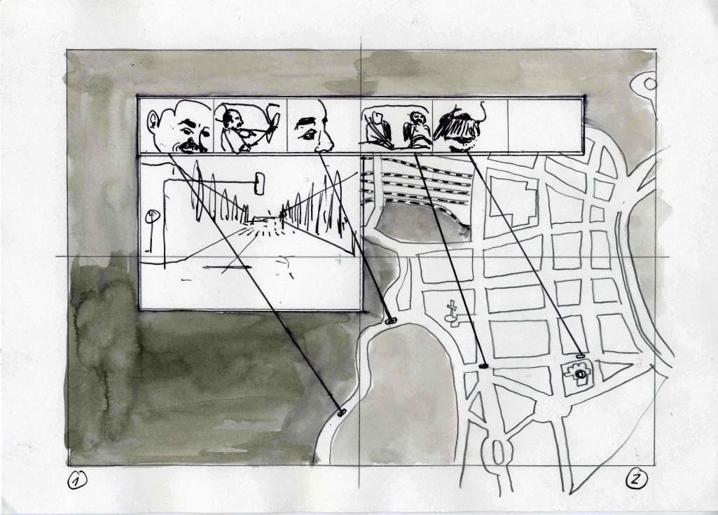 Anfang assoziatives Storyboard I.Krötsch